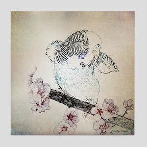 Parakeet 007 - Breeze Tile Coaster