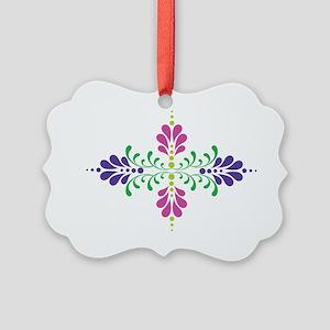 Floral Decoration Picture Ornament