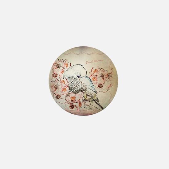 Parakeet Sweet Dreams Durvet Mini Button