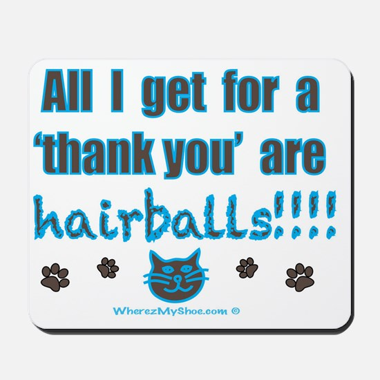 hairballs Mousepad