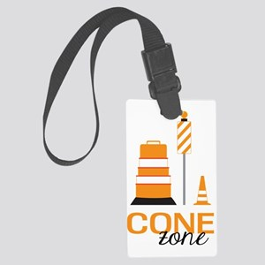 Cone Zone Large Luggage Tag