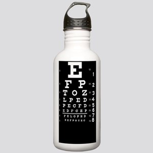 eyechart_full_page dar Stainless Water Bottle 1.0L