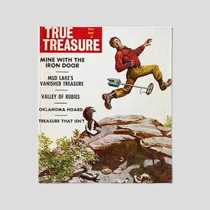 True Treasure June 1969 Throw Blanket