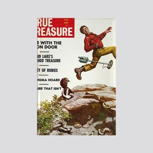 True Treasure June 1969 Rectangle Magnet