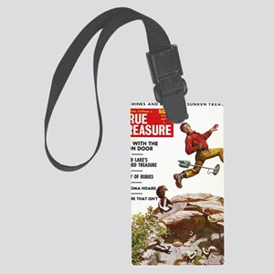 True Treasure June 1969 Large Luggage Tag