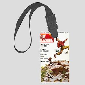 True Treasure June 1969 Large Luggage Tag