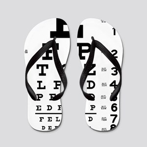 eyechart_full_page Flip Flops