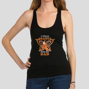 I Wear Orange for my Dad Racerback Tank Top
