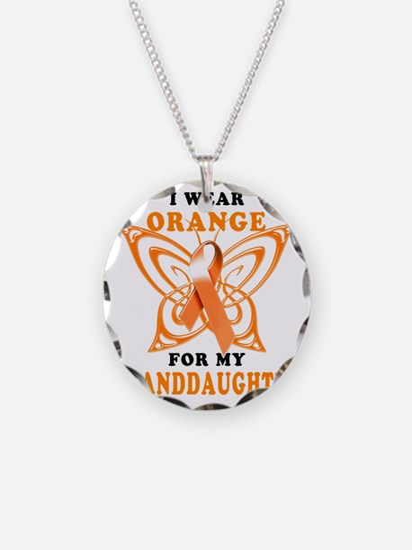 I Wear Orange for my Grandda Necklace