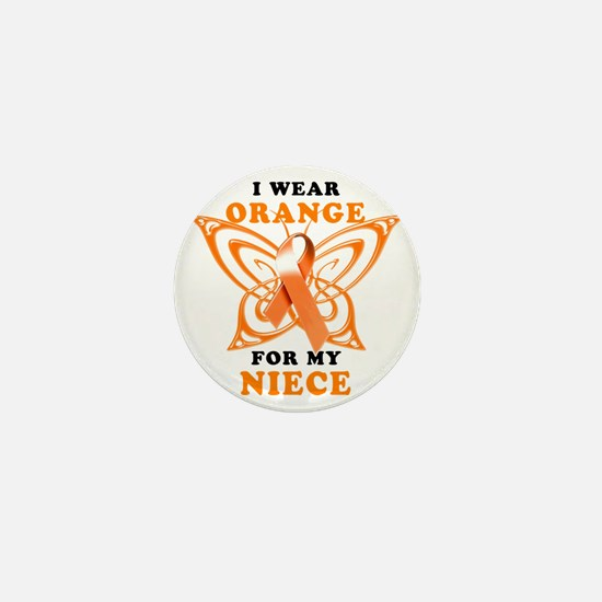 I Wear Orange for my Niece Mini Button