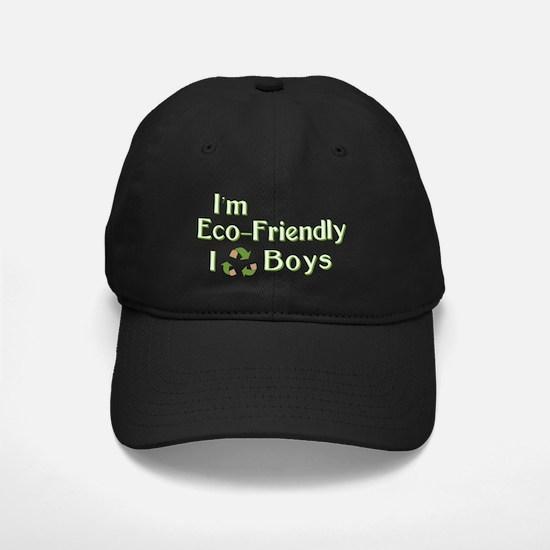 I Recycle Boys Baseball Hat