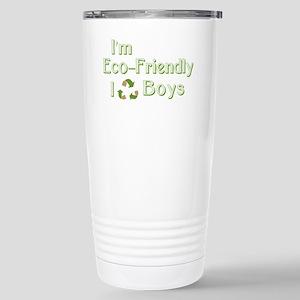 I Recycle Boys Stainless Steel Travel Mug