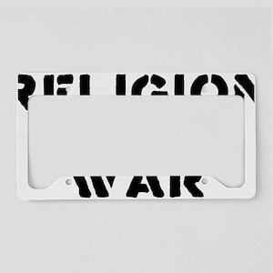 war License Plate Holder