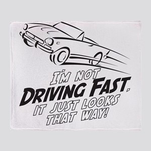 Fast Driving Italian Throw Blanket