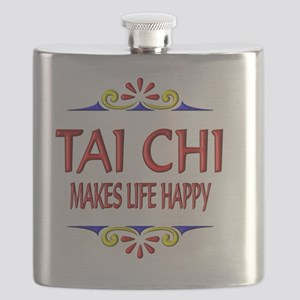Tai Chi Happy Life Flask