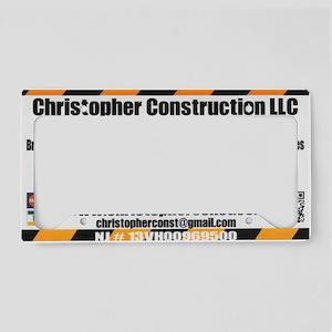 our logo License Plate Holder