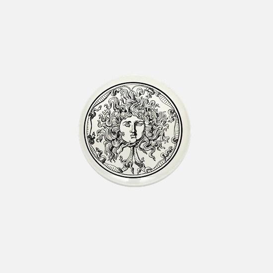 Medusa Mini Button