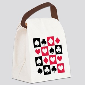 Suits Canvas Lunch Bag