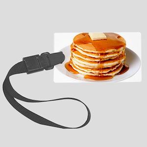 Pancakes Large Luggage Tag