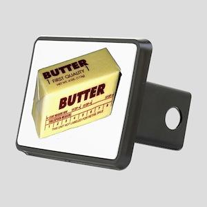 Butter Rectangular Hitch Cover