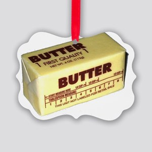 Butter Picture Ornament