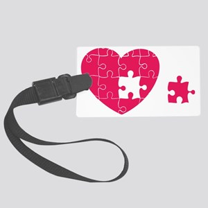 Piece of My Heart Large Luggage Tag