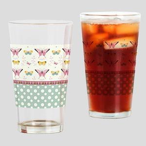 Persian Sweet Butterflies Drinking Glass