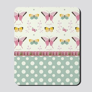 Persian Sweet Butterflies Mousepad
