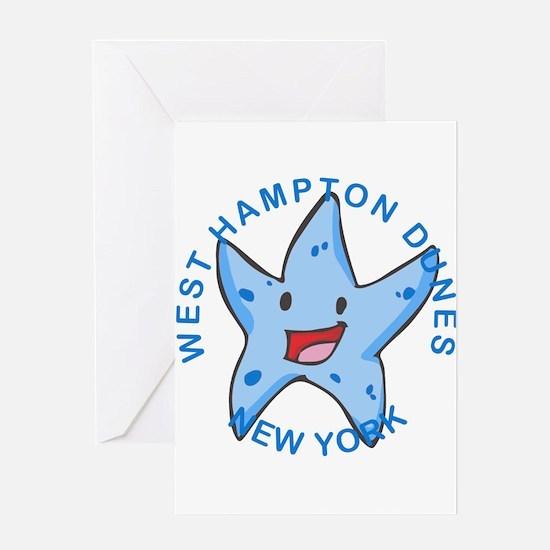 New York - West Hampton Dunes Greeting Cards