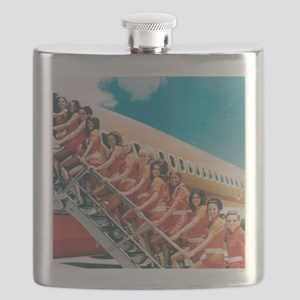 Flight Attendants Flask
