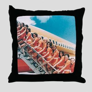 Flight Attendants Throw Pillow