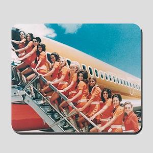 Flight Attendants Mousepad