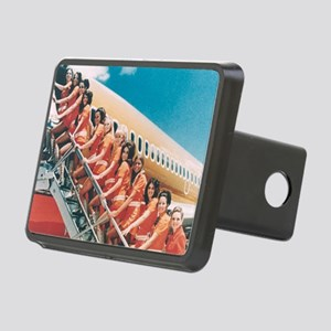 Flight Attendants Rectangular Hitch Cover