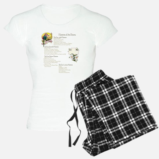 Mysteries of the Rosary Lar Pajamas