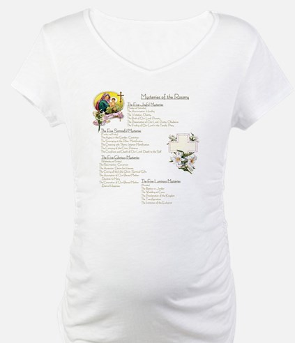 Mysteries of the Rosary Large Shirt