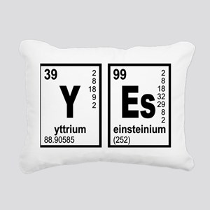 Periodic table yttrium pillows cafepress yes elements geeky rectangular canvas pillow urtaz Images