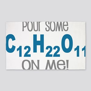 Pour Some Sugar Chemistry Geeky 3'x5' Area Rug