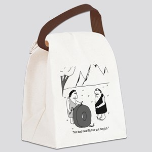 wheel invention Canvas Lunch Bag