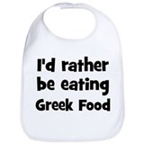 Greek Cotton Bibs