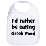 Greek Cotton Bibs