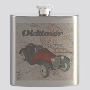 Old Timer On Tour Flask