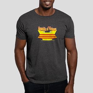 The Vietnamese-american flag ribbon Dark T-Shirt