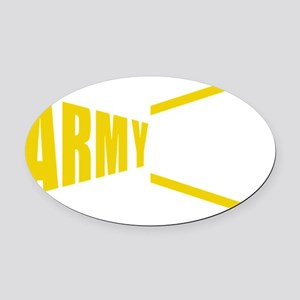 Army Wife Oval Car Magnet