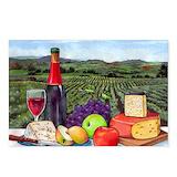 Wine Postcards