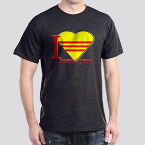 I love Vietnamese Republic Dark T-Shirt