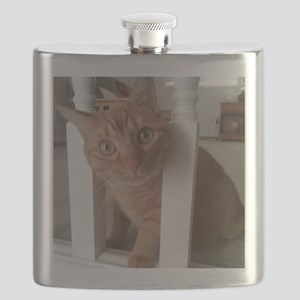 Banister Kitty Flask