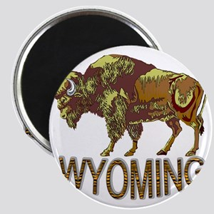 Wyoming state crest e3 Magnet