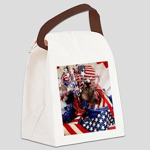 Dottie Canvas Lunch Bag