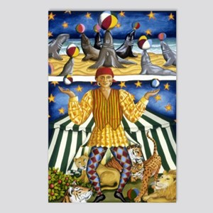 The Juggler Postcards (Package of 8)