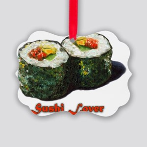 Sushi Lover 2 Picture Ornament